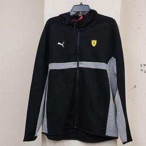 Puma Ferrari zip-up hoodie sweatshirt jacket NWT